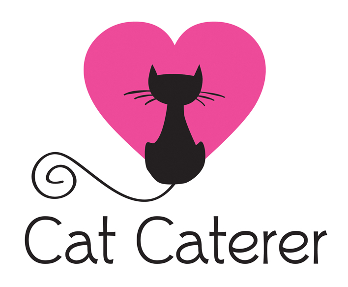 The Cat Caterer - Logo Design for cat care company