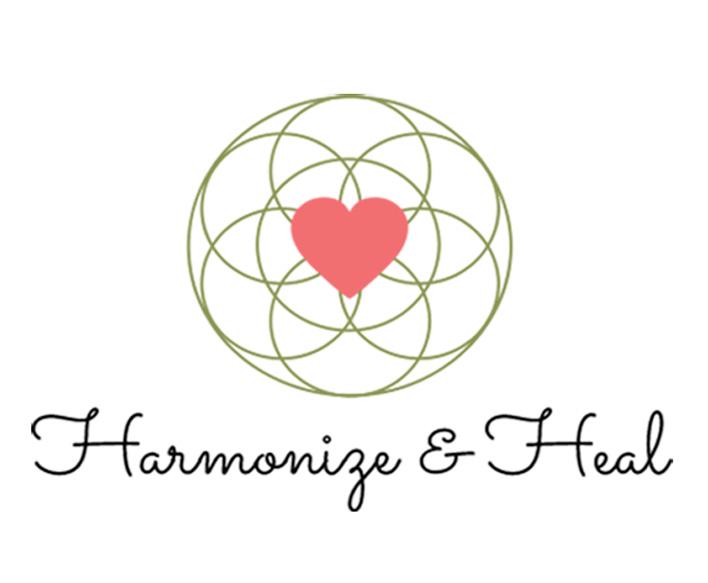 Harmonize & Heal - Holistic Logo Design for Energy Healer