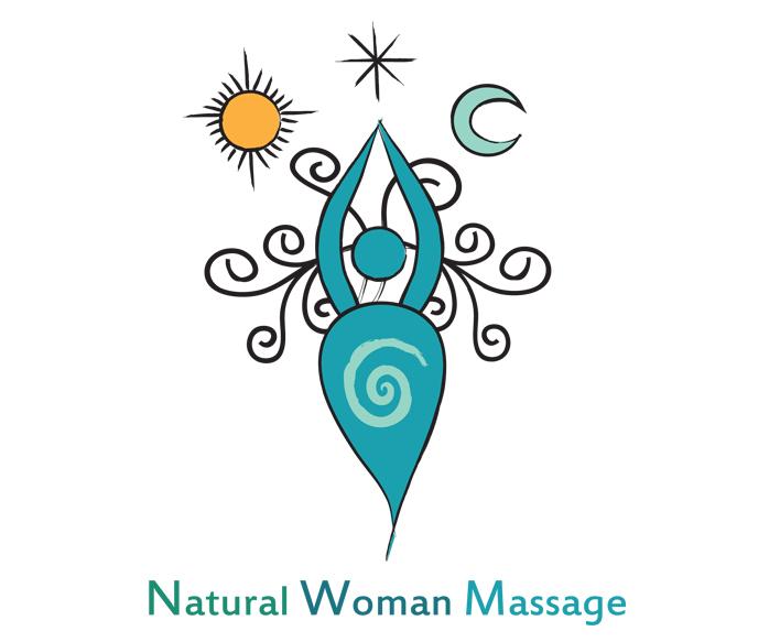 Natural Woman Massage - Logo for Massage Therapist