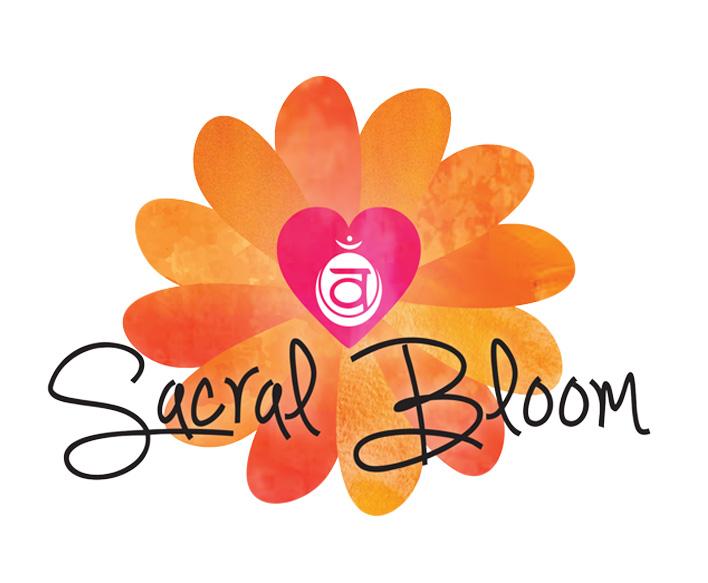 Energy Healer Logo Design - Sacral Bloom