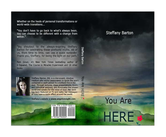 Spiritual Author Book Cover Design