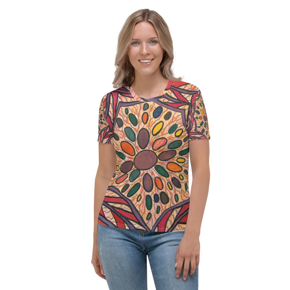 Jellybean Mandala Women's T-shirt